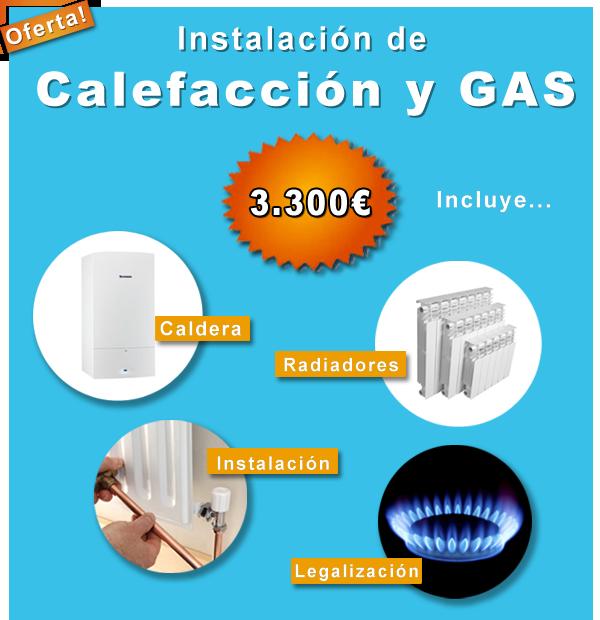 Instalacion radiadores gas natural instalacion radiadores for Cuanto cuesta instalar calefaccion gas natural