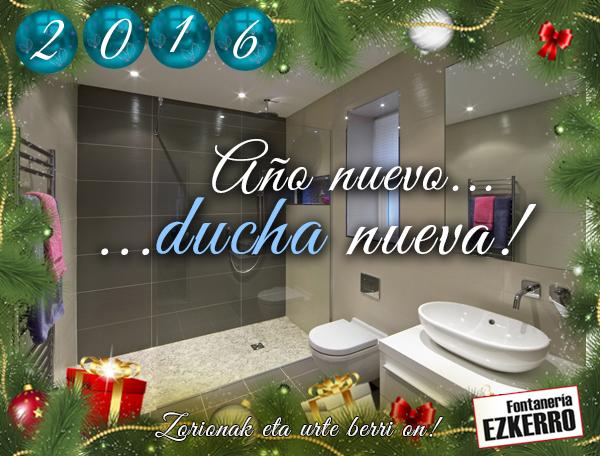 Fontaneria Baño Nuevo:Año nuevo, ducha nueva! Cambia tu bañera por una ducha y regálate